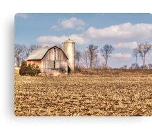 Wisconsin Barn Canvas Print