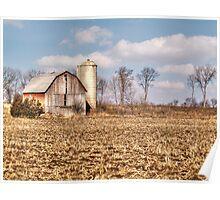 Wisconsin Barn Poster