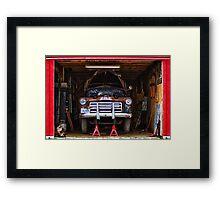 Service | Garage Framed Print