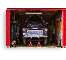 Service | Garage Canvas Print