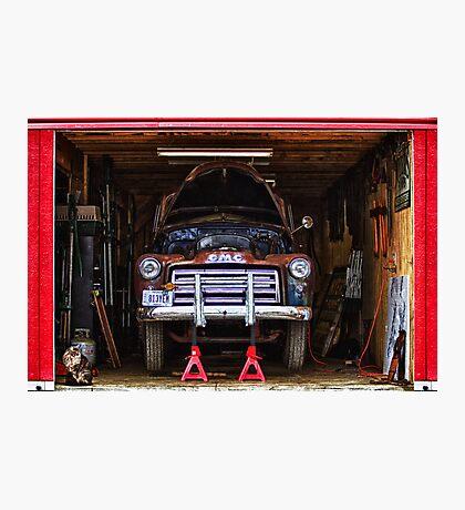 Service   Garage Photographic Print