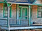 The old front porch by Marcia Rubin