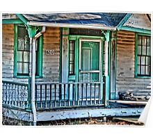 The old front porch Poster