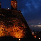 Cartagena Castle by TatiDuarte