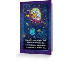 Rabbit Hole Greeting Card