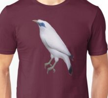 bird white Unisex T-Shirt