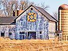 Patchwork Quilt Barn  by Marcia Rubin