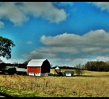 Farm of Berlin,Wi by Eric langley