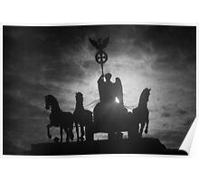 Brandenburg Shadow Poster