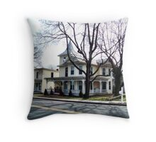 Victorian and Guest House Throw Pillow