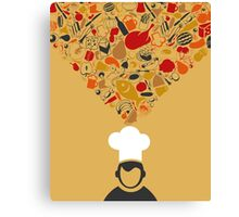 Cook Canvas Print