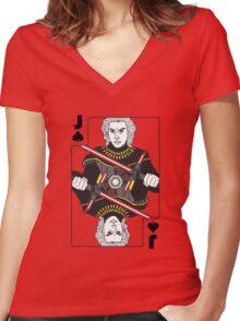 Rebel Empire - Kylo Ren Women's Fitted V-Neck T-Shirt
