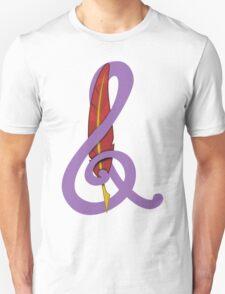 Treble Quill Shirt (Beta) Unisex T-Shirt