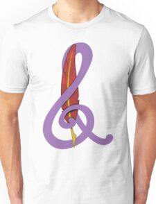 Treble Quill Shirt (Beta) Unisex T-Shirt