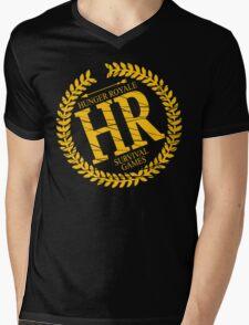 HR SURVIVAL GAMES Mens V-Neck T-Shirt