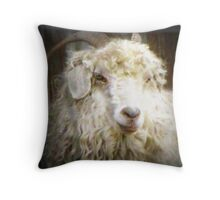 Wooly Booger Throw Pillow