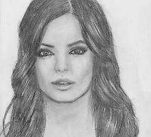 Mila Kunis Drawing by Nicole Schenk