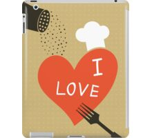 Cooking love iPad Case/Skin