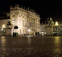 Palazzo Madama - Turin, Italy by Mark Van Scyoc