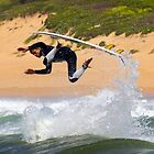 North Narrabeen Surfer by Doug Cliff