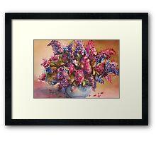 A Bowl Full Of Lilacs Framed Print