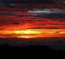 Haleakala at Sunrise by CkHorn