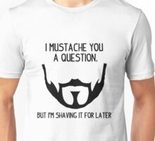 Seneca Crane Question Unisex T-Shirt