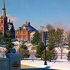 milltown winter by titianbeta