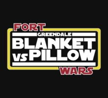Greendale Fort Wars: Blanket vs Pillow by rexraygun