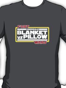 Greendale Fort Wars: Blanket vs Pillow T-Shirt