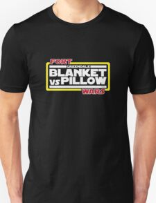Greendale Fort Wars: Blanket vs Pillow T-Shirt