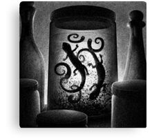 Drawlloween 2015: Witch Canvas Print