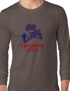Superhero Style Long Sleeve T-Shirt