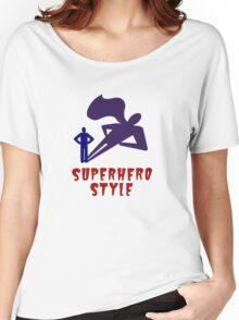 Superhero Style Women's Relaxed Fit T-Shirt