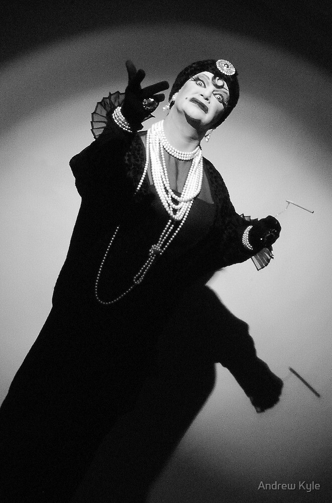 Richard Curtin as Norma Desmond by Andrew Kyle