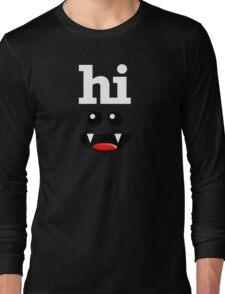 HI Long Sleeve T-Shirt