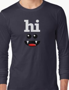 HI Long Sleeve T-Shirt