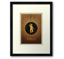 Steven Spielberg's RAIDERS OF THE LOST ARK Framed Print