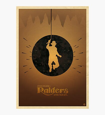 Steven Spielberg's RAIDERS OF THE LOST ARK Photographic Print