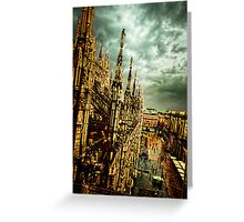 Apocalypse Milano 1 Greeting Card