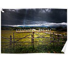 Strathspey Railway Poster