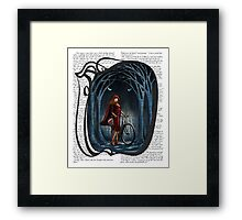 Art Nouveau RED RIDING HOOD Framed Print