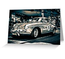 Porsche 2 Greeting Card