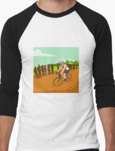 Cyclist Racing WPA Men's Baseball ¾ T-Shirt