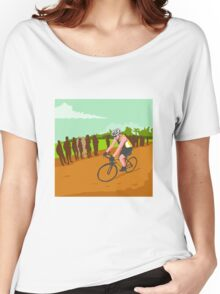 Cyclist Racing WPA Women's Relaxed Fit T-Shirt