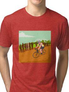 Cyclist Racing WPA Tri-blend T-Shirt