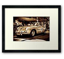 Porsche 3 Framed Print