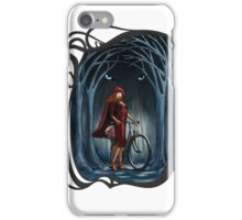 Art Nouveau RED RIDING HOOD iPhone Case/Skin