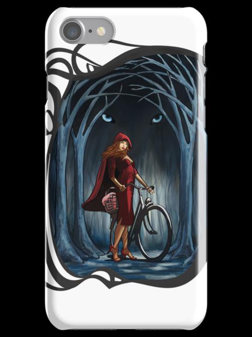 Art Nouveau RED RIDING HOOD by SFDesignstudio