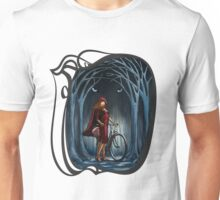 Art Nouveau RED RIDING HOOD Unisex T-Shirt